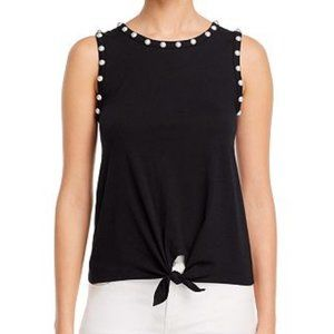 New Generation Love Pearl Embellished Tank Top M